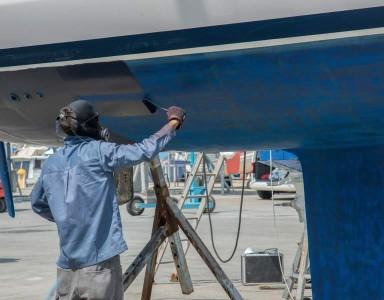 Voorbereiden schilderklus aan je boot